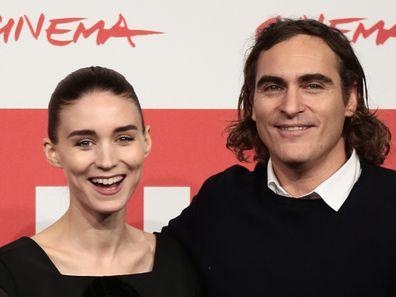 Rooney Mara, Joaquin Phoenix, Her, movie, premiere