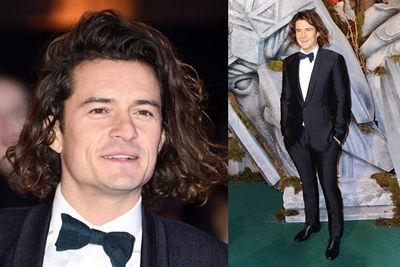 Woah Orlando, your hair is all over the place! <br/><br/>Posing on the green carpet of <i>The Hobbit: The Battle of Five Armies</i> world premiere, the 37-year-old looked like he'd just hit the surf in Hawaii. Was ex-wife Miranda Kerr the one who chopped your locks all those years, Orlando?<br/><br/>Scroll through for more green carpet action direct from the London world premiere...<br/><br/>Images: AFP/Getty<br/>Author: Yasmin Vought