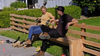 Fence Bench