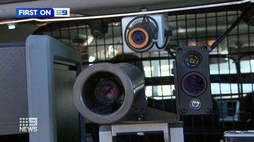 High-tech mobile speed cameras