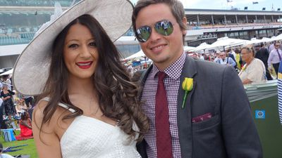 Over 100,000 people were expected to turn up for the big day. (ninemsn)