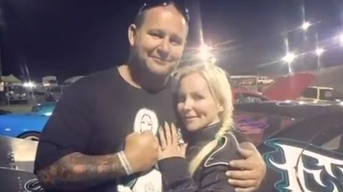 Nick Martin was shot at the Kwinana Motorplex arena in front of his family and hundreds of other people.
