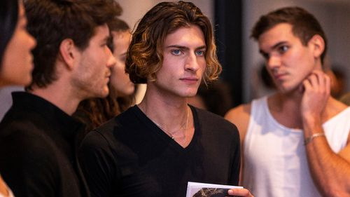 The department store was seeking young men and women for the next fashion show. Picture: AAP