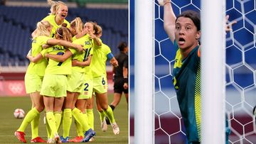 Sweden down the Matildas.