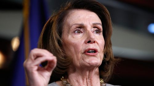 "House Democratic leader Nancy Pelosi of California said the move is ""part of a dangerous and desperate pattern of cover-up on the part of the president"". (AAP)"