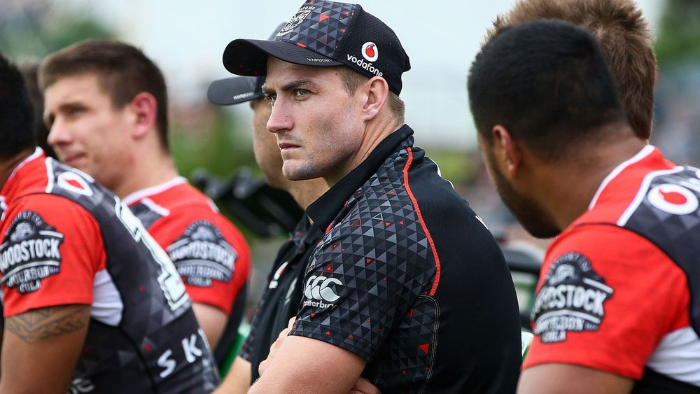 Controversial Warriors recruit Kieran Foran has been officially ruled out of the NRL side's clash with the Bulldogs on Friday with injury.