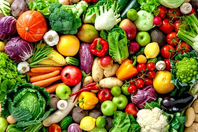 Not eating enough fruit and vegetables