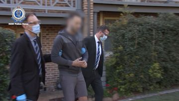 NSW men charged over alleged COVID fraud, drug supply