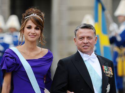 King Abdullah II and Queen Rania of Jordan, 28 years