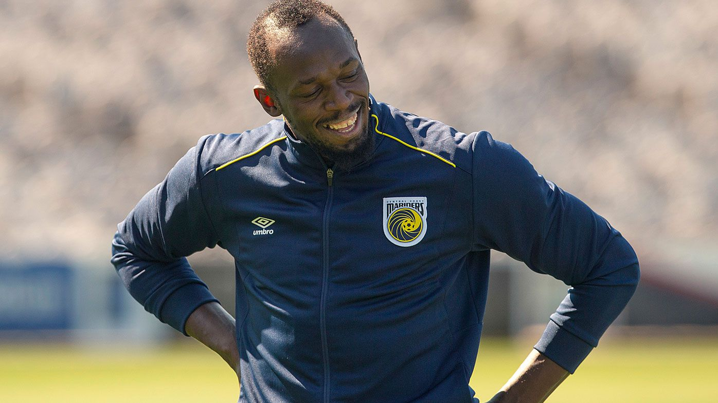 Central Coast Mariners coach Mike Mulvey reveals plans for Usain Bolt