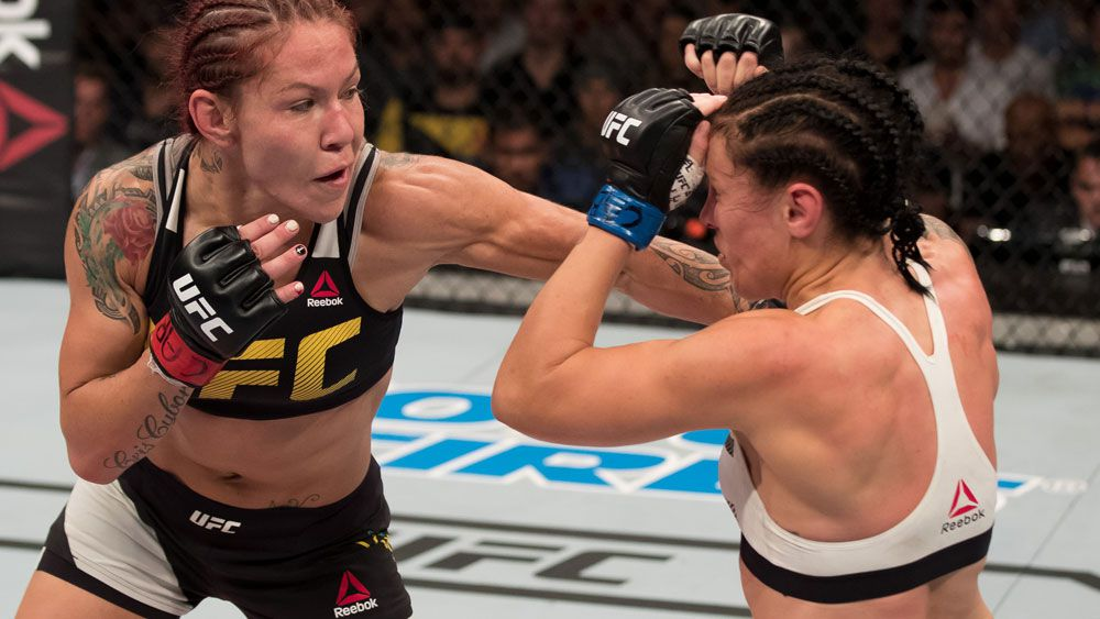 Cris Cyborg calls out Ronda Rousey after battering Lina Lansberg in Brazil