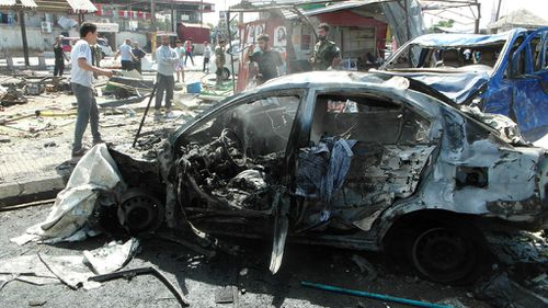 The blasts are the deadliest attacks on the two cities since the Syrian civil war began. (AAP)