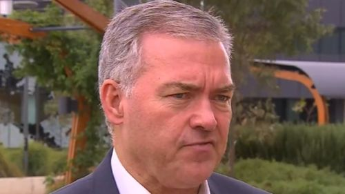 Stephen Wade vowed to fix the problem plaguing the new hospital. (9NEWS)