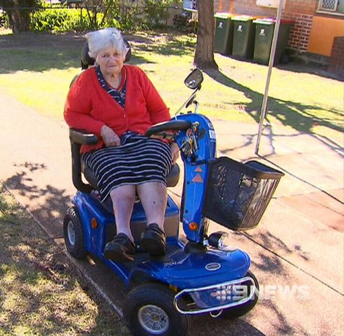 Jean Farnworth was left disabled for life after catching polio just before her sixth birthday. Picture: 9NEWS