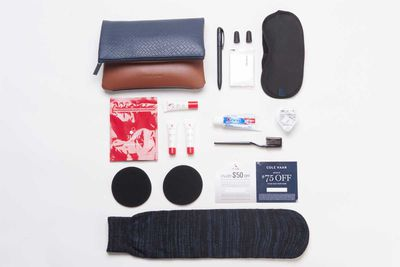 First Class Amenity Kit, Americas - WESSCO International for American Airlines