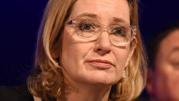 British Home Secretary Amber Rudd. (AAP)