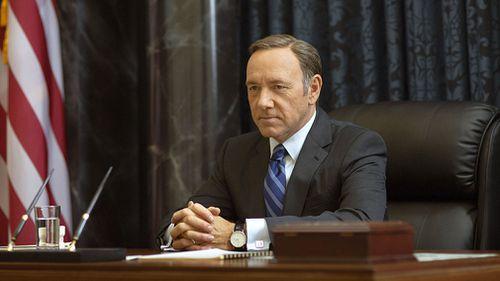 Spacey has starred in five seasons of 'House of Cards'. (AAP)