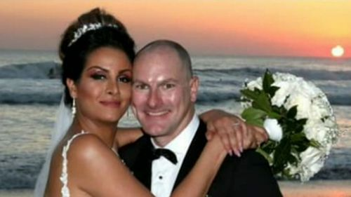 The couple had only been married a year when they died in the crash.