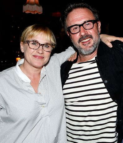Patricia and David Arquette