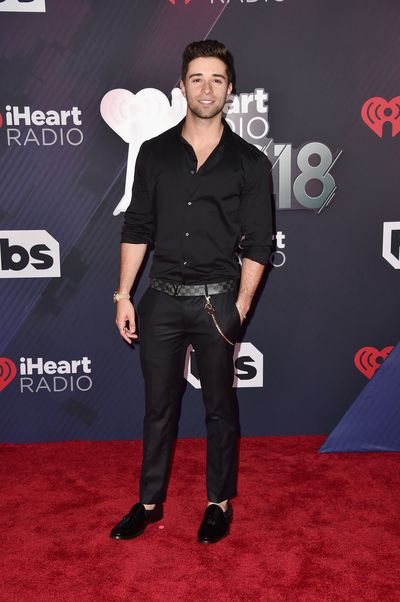 Jake Miller at the 2018 iHeart Radio Music Awards in Los Angeles