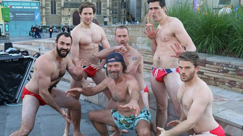 Sydney mates will brave Australia's highest peak in nothing but their cossies for charity