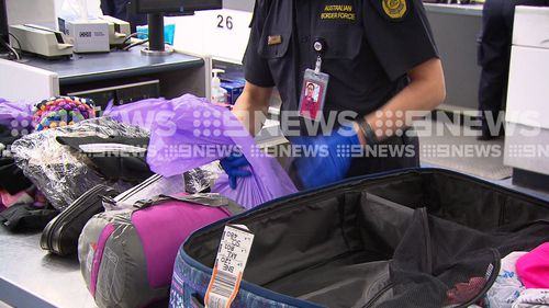 """If it's in your bag, you're responsible,"" Inspector Cathy Claridge from Australian Border Force told 9NEWS."