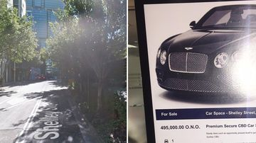 $495,000 for this Sydney car space