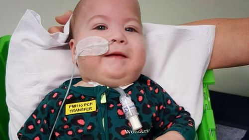 William Lucas has a congenital condition called Pierre Robin sequence and requires 24-hour care.