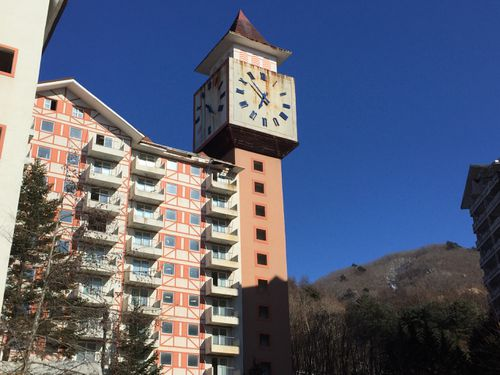 The clock tower frozen in time. (Matt Nelson)