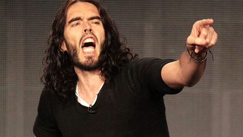 Russell Brand under investigation for throwing photographer's phone through a window