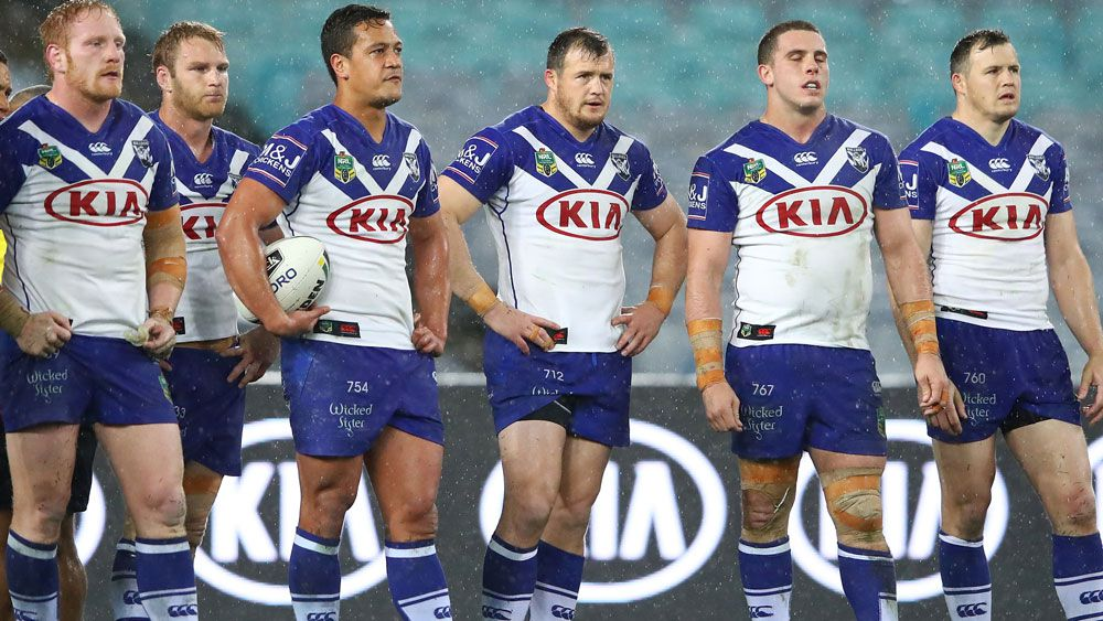 The Canterbury Bulldogs are going from bad to worse. (Getty Images)