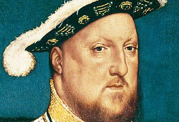 Daily Quiz: How many women did Henry VIII marry?