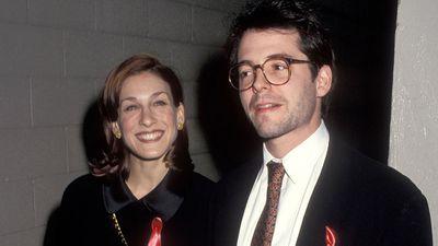 Sarah Jessica Parker and Matthew Broderick: Then…