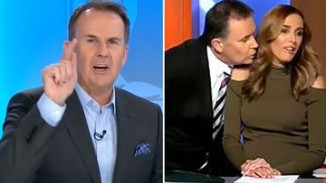 TJ reveals 'real story' behind awkward Bec Judd moment