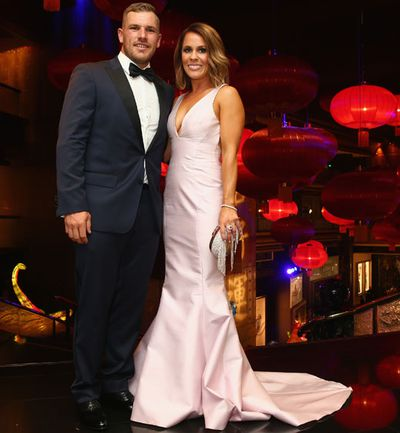 Aaron Finch and Amy Griffiths.