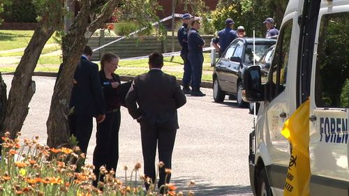 Forensic officers are at the scene. (9NEWS)