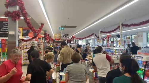 South Australians have been urged not to rush to the shops.