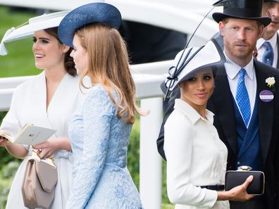 Prince Harry and Meghan's 'petulant' statement includes an excavation of Beatrice and Eugenie, source claims