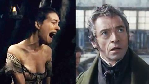 Watch: Hugh Jackman and Anne Hathaway singing live in Les Miserables
