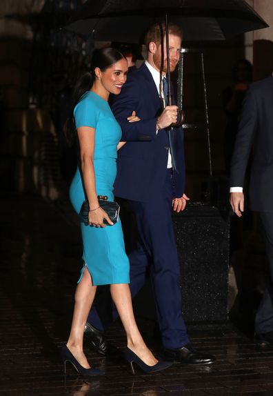 Meghan, Duchess of Sussex and Prince Harry, Duke of Sussex attend The Endeavour Fund Awards at Mansion House in London.