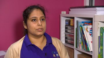 Expectant mother Kanika Thingra was robbed on Sydney's northern beaches last night.