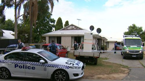 Authorities were alerted after a group of people inside the home discovered the woman's body. (9NEWS)