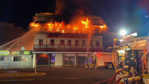 Bundaberg Federal Hotel fire