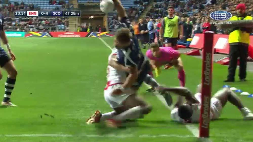 Four Nations: Scottish winger scores try of the tournament