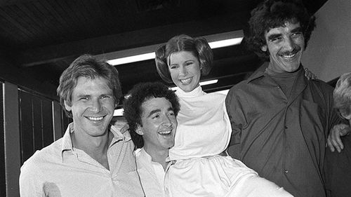 Star Wars actors pay tribute to friend and co-star Carrie Fisher