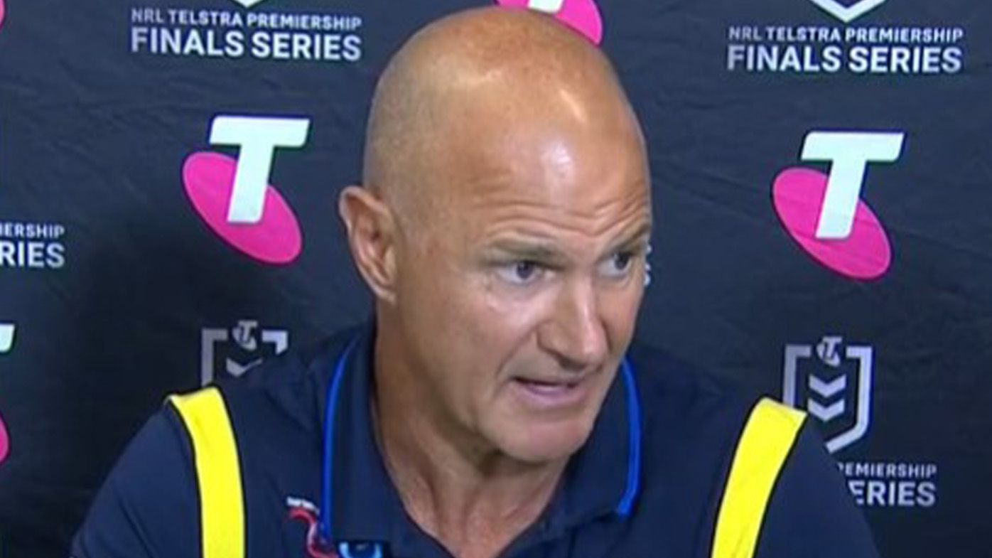Eels coach Brad Arthur bristles over Panthers' manipulation of referee in polarising finish to epic semi-final
