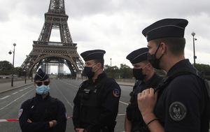 Eiffel Tower evacuated after police receive bomb tip-off in anonymous call