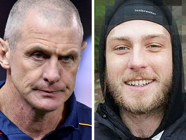 Phil and Cy Walsh. (AAP)