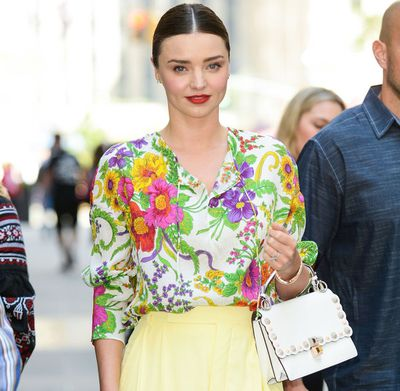 Miranda Kerr in New York, October 2017