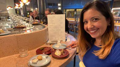 9Honey checks out the world's first cheese conveyor belt restaurant